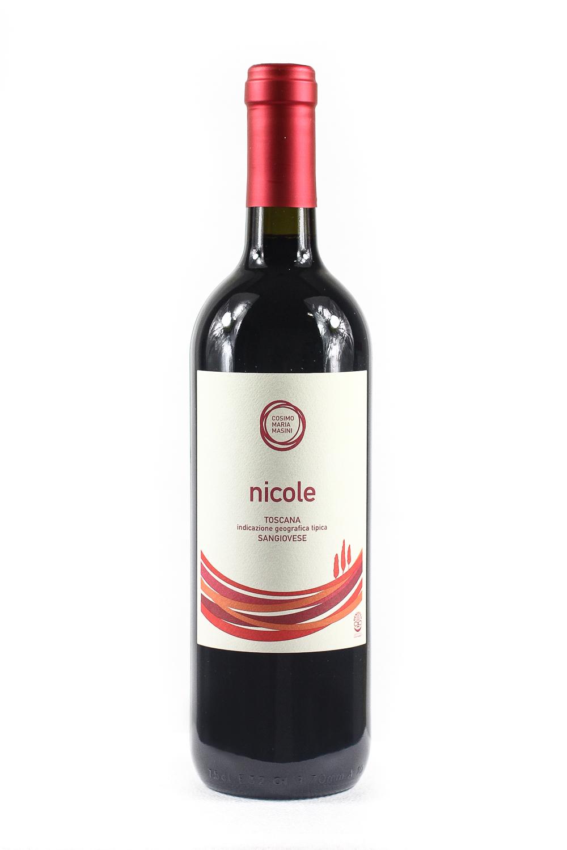 Nicole IGT Sangiovese Toscano Cosimo Maria Masini